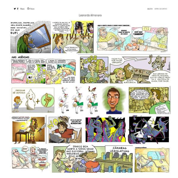Leonardo Almenara Portfolio Website Examples