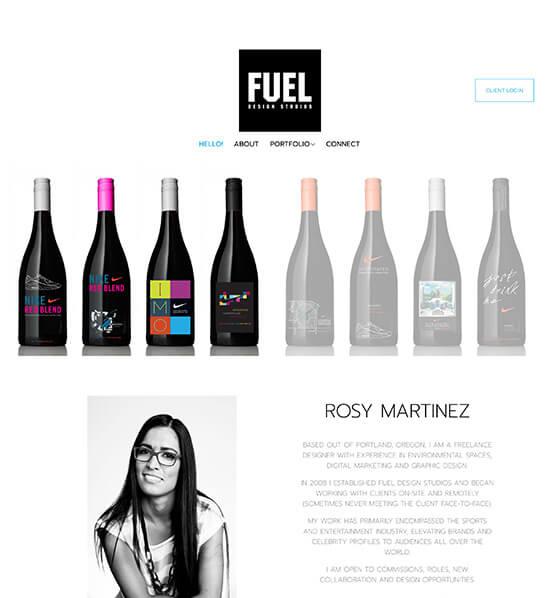 Rosy Martinez Portfolio Website Examples
