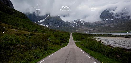 Javad Parsa Portfolio Website Examples