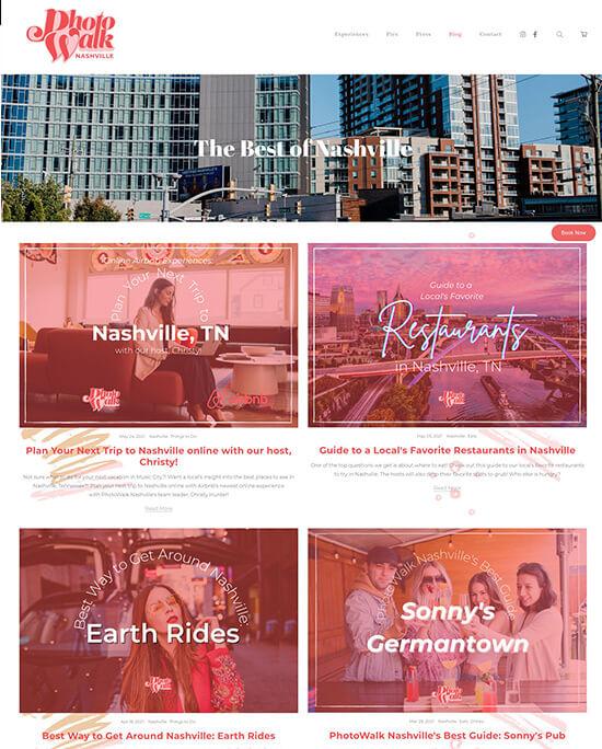 Christy Hunter Portfolio Website Examples
