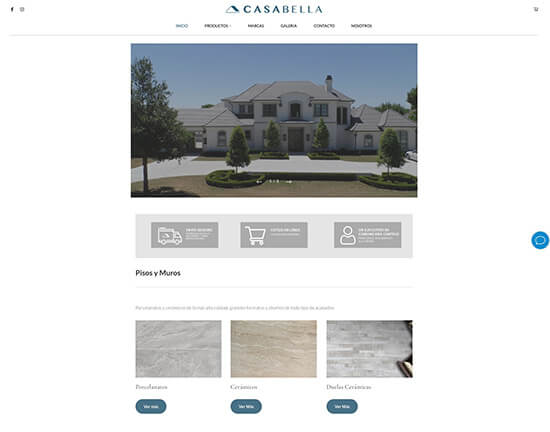 Casa Bella Portfolio Website Examples