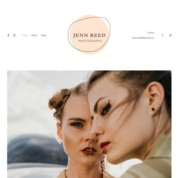 Jenn Reed  Portfolio Website Examples