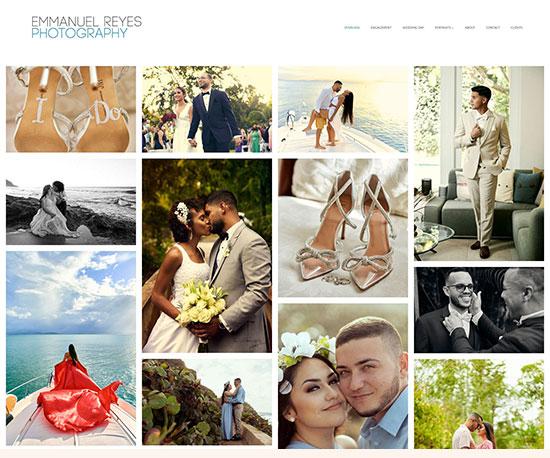 Emmanuel Reyes Portfolio Website Examples