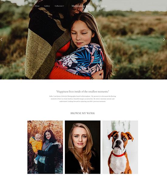 Katarzyna Stanczyk Portfolio Website Examples