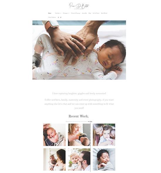 Pierre de Bellot Portfolio Website Examples