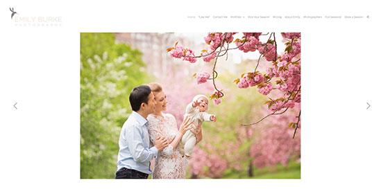 Emily Burke Portfolio Website Examples