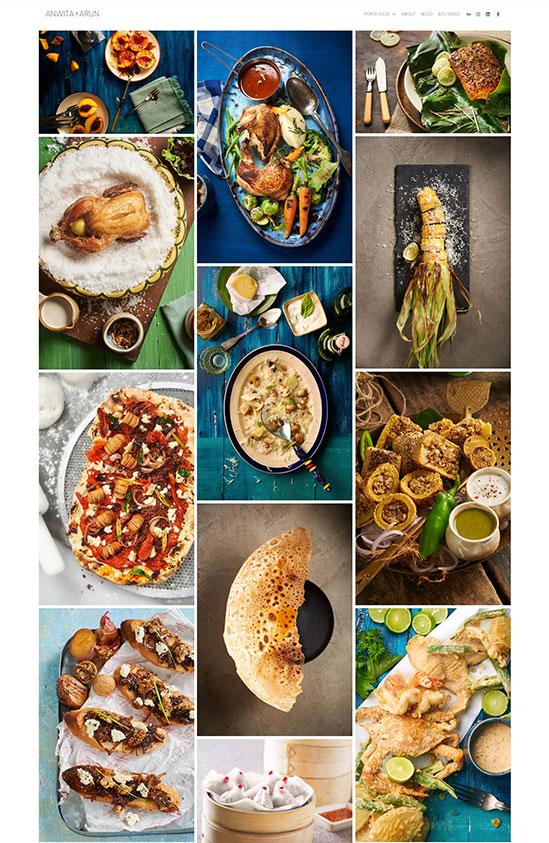 Anwita+Arun Portfolio Website Examples