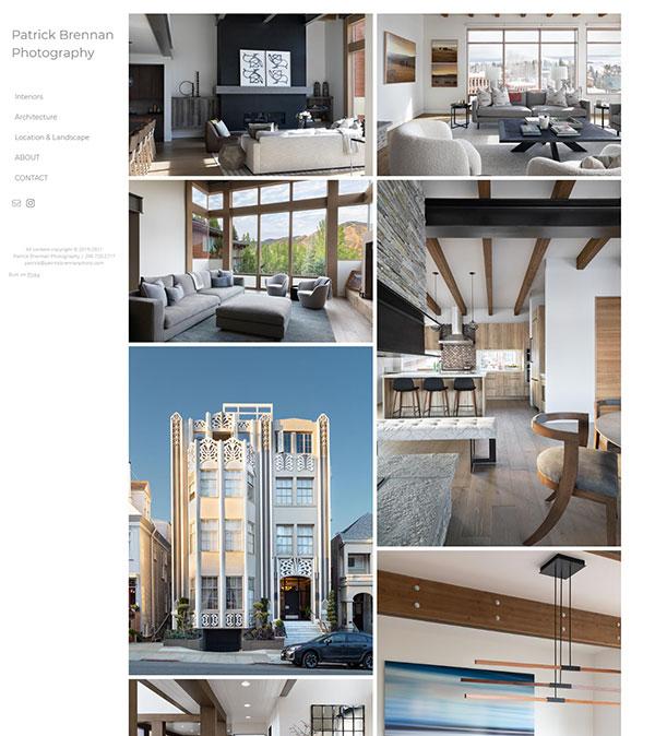 Patrick Brennan Portfolio Website Examples
