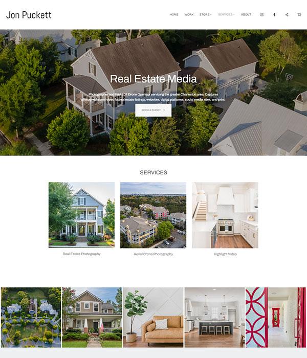 Jon Puckett Portfolio Website Examples