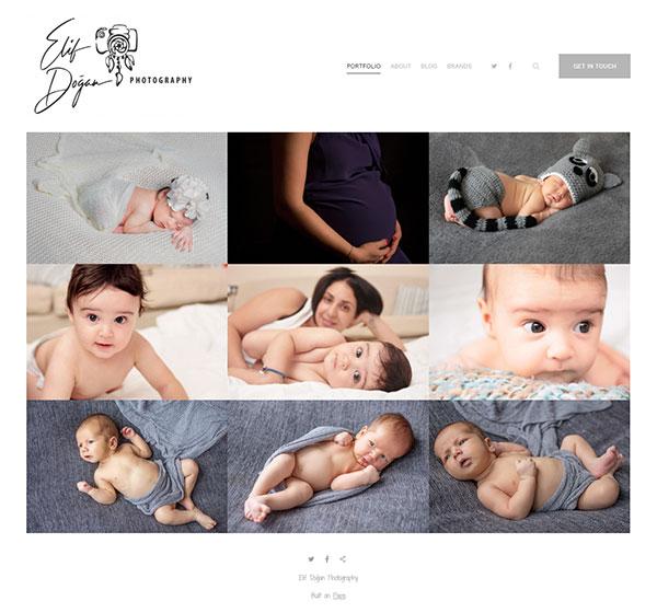 Elif Dogan Portfolio Website Examples