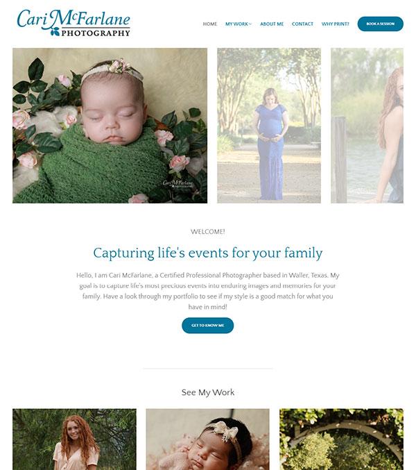Scott McFarlane Portfolio Website Examples