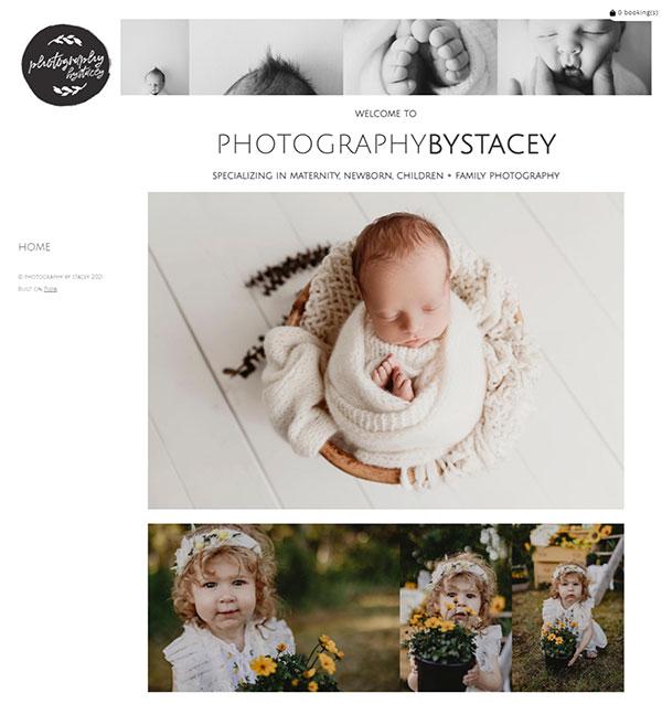 Stacey Medland Portfolio Website Examples