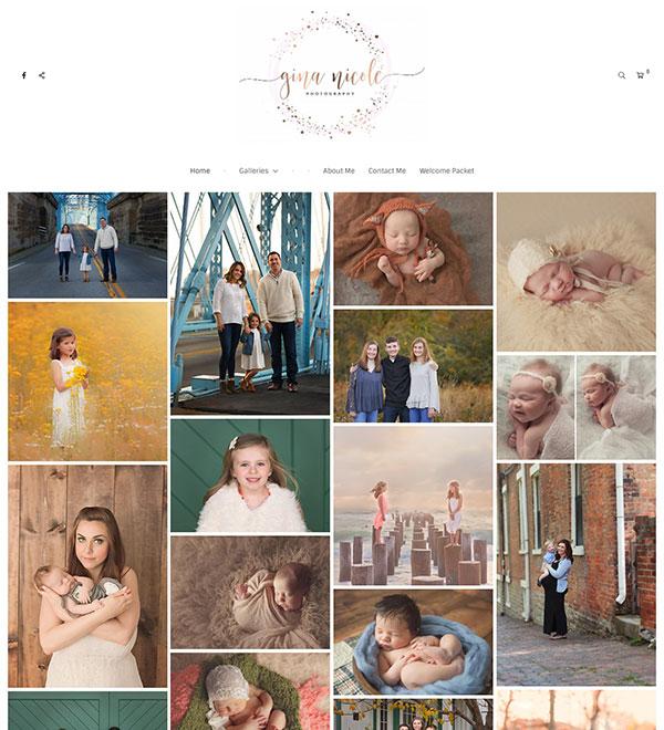 Gina Altieri Portfolio Website Examples