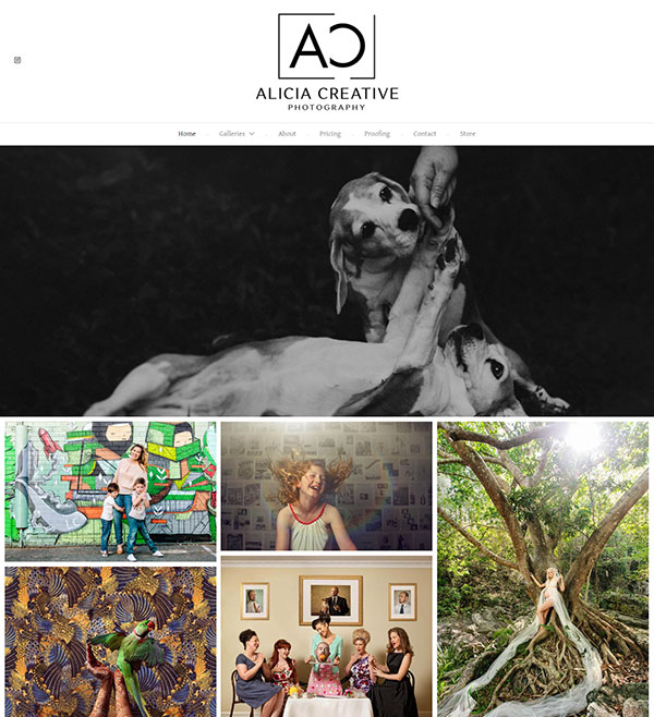 Alicia Adamopoulos Portfolio Website Examples