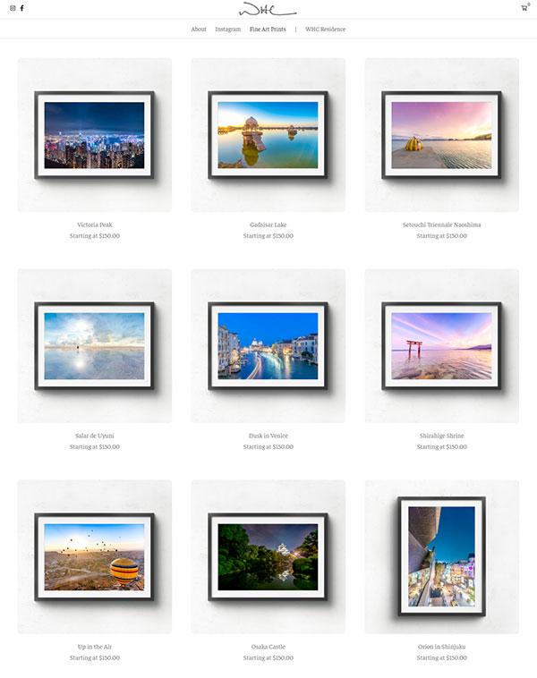 Wayne Chan Portfolio Website Examples