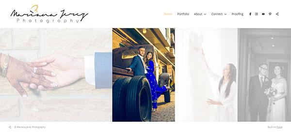 Mariana Jerez Portfolio Website Examples