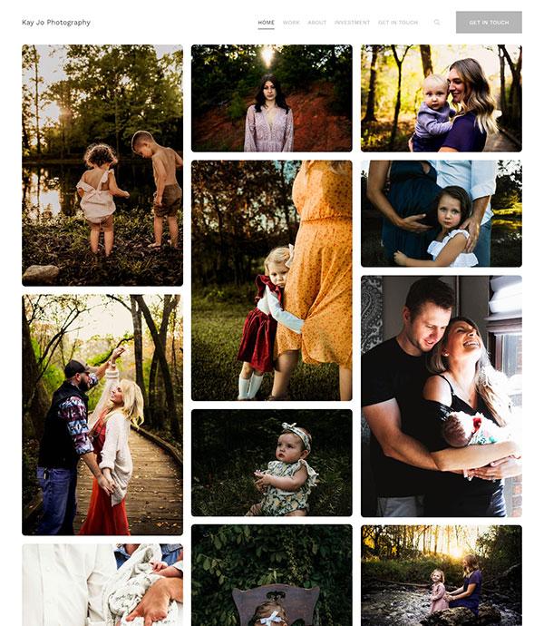 Kaitlyn Strate Portfolio Website Examples