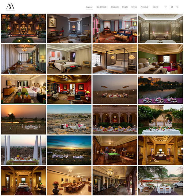 Ankush Maria  Portfolio Website Examples