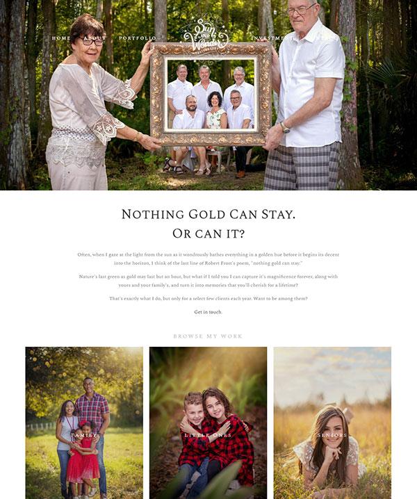 Sheila Hughes Portfolio Website Examples