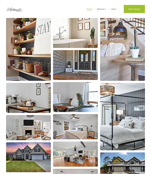 Lynn Turonis Portfolio Website Examples