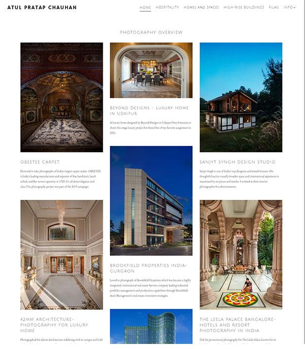 Atul Pratap Chauhan  Portfolio Website Examples