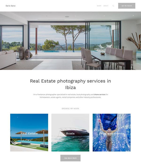 Dario Sanz Portfolio Website Examples