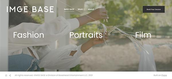 Michael Crawford Portfolio Website Examples