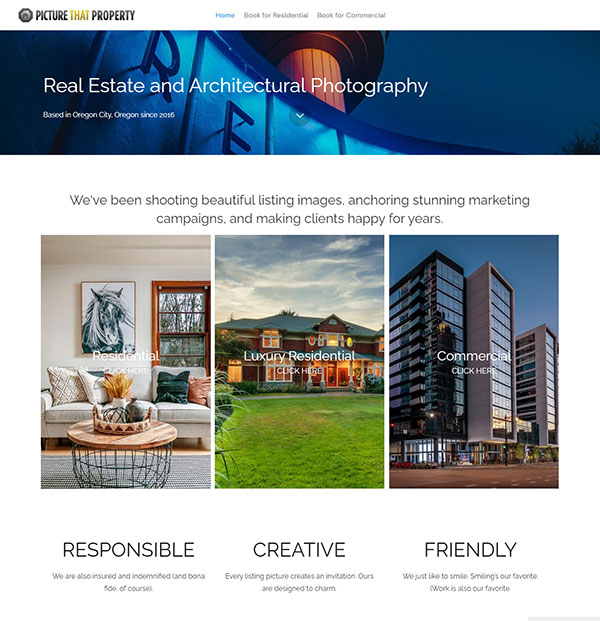 George Shubin Portfolio Website Examples