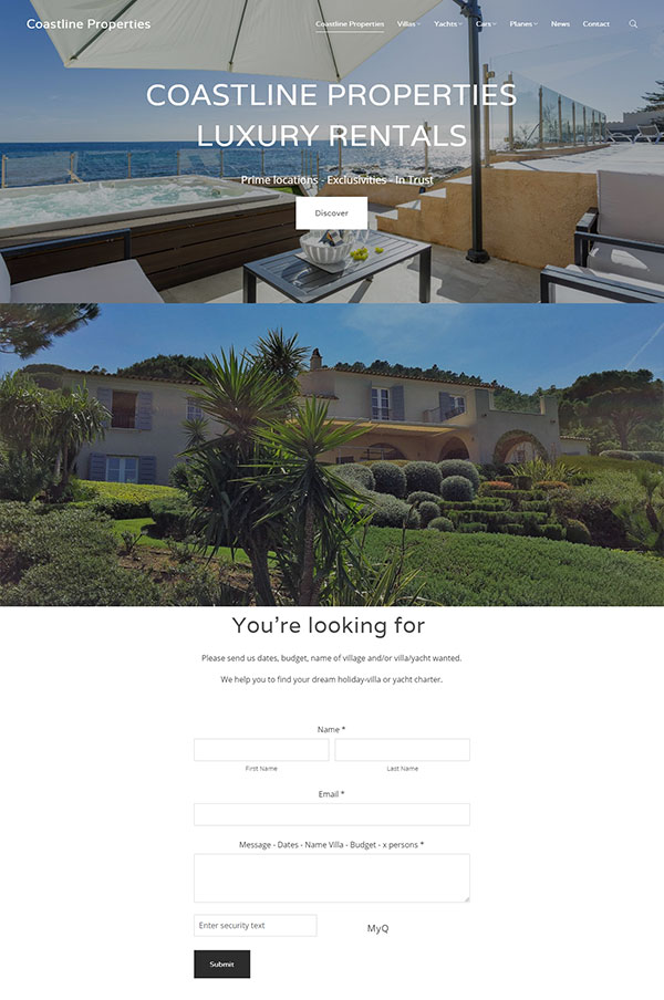 Tom Vandenhende Portfolio Website Examples