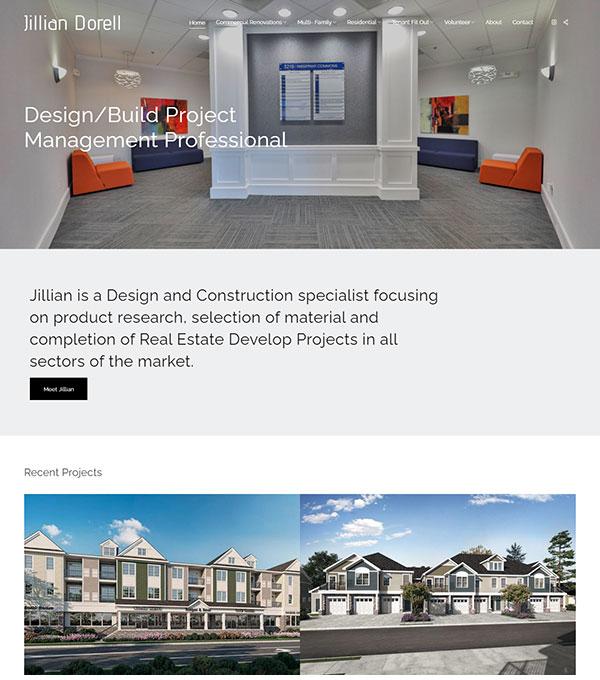 Jillian Dorell Portfolio Website Examples