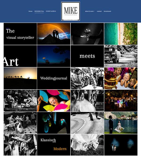 Arnold Mike Portfolio Website Examples