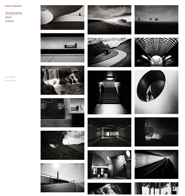 Kevin Ketterle Portfolio Website Examples