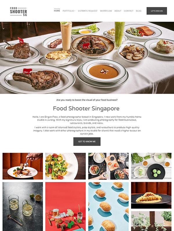 Dirgan Fasa Portfolio Website Examples