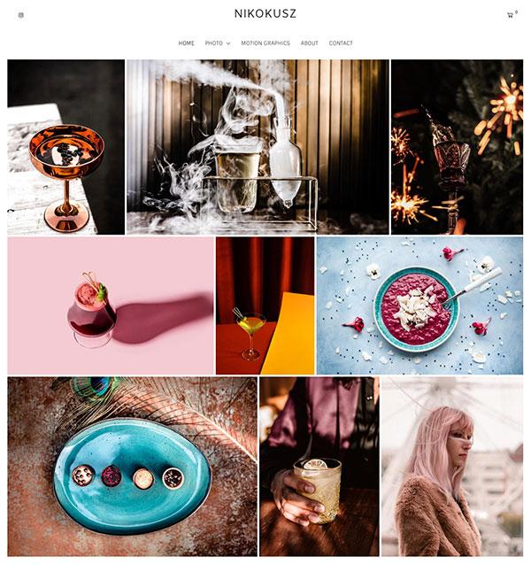 Nikolett Ivan Portfolio Website Examples