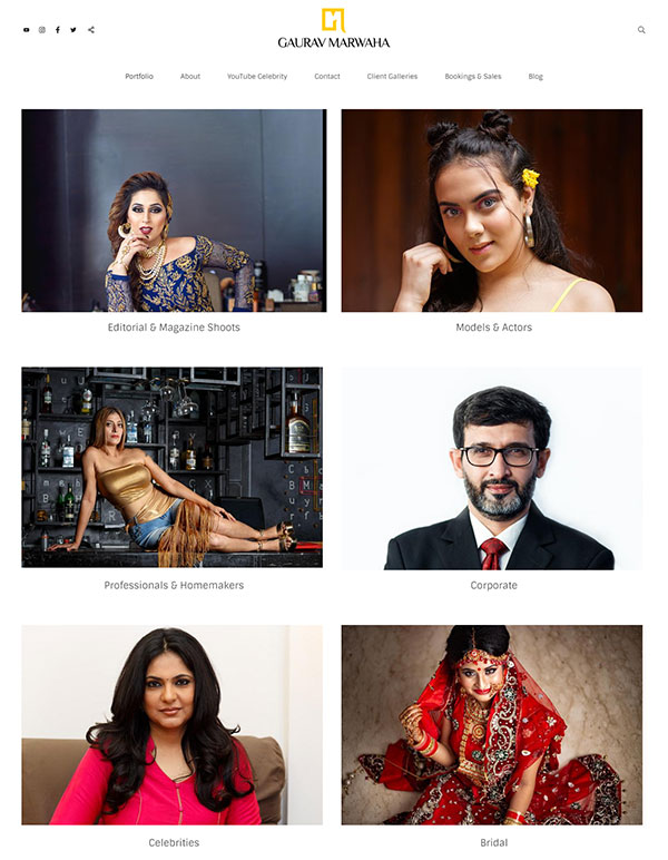 Gaurav Marwaha Portfolio Website Examples
