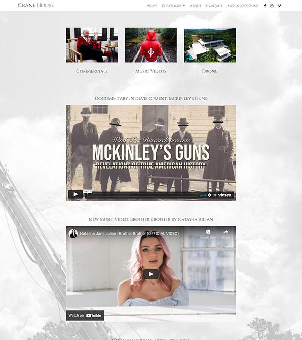 Troy Carlton Portfolio Website Examples