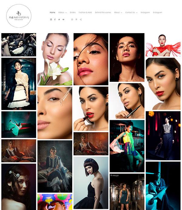 Anjum Bhardwaj Portfolio Website Examples