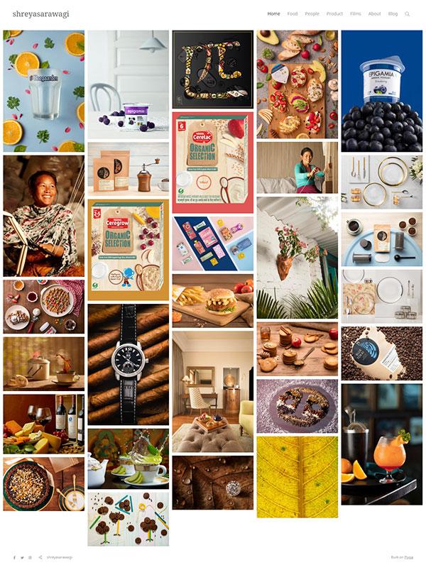 Shreya Sarawagi Portfolio Website Examples