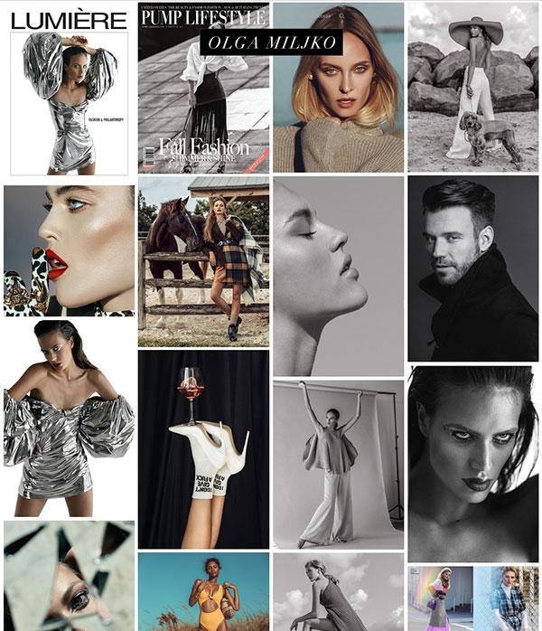 Olga Miljko Portfolio Website Examples