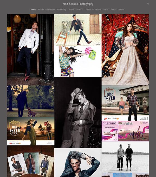 Amit Sharma Portfolio Website Examples