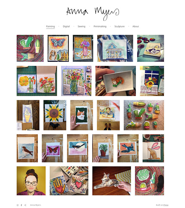 Jimmy Cook Portfolio Website Examples
