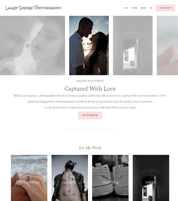 Lainey Mulligan Portfolio Website Examples