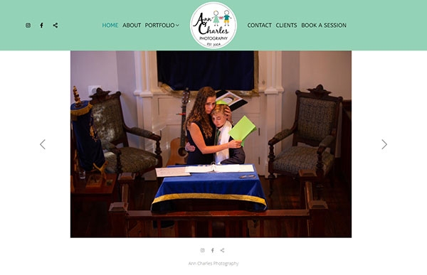 Ann Hermann Portfolio Website Examples