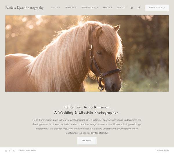 patricia Kjr Jrgensen Portfolio Website Examples
