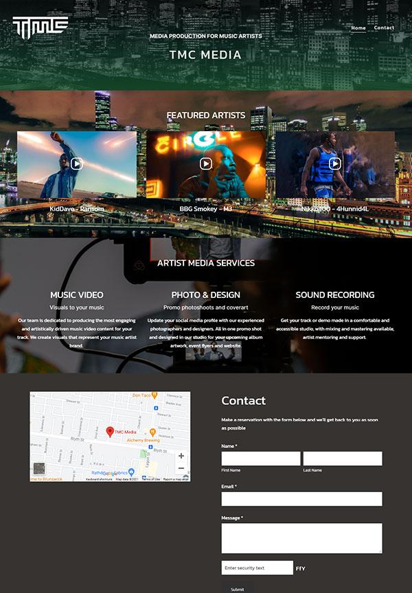 tim McCartney Portfolio Website Examples