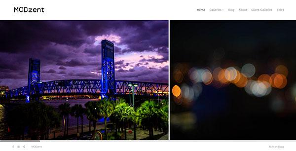Brian Wiley Portfolio Website Examples