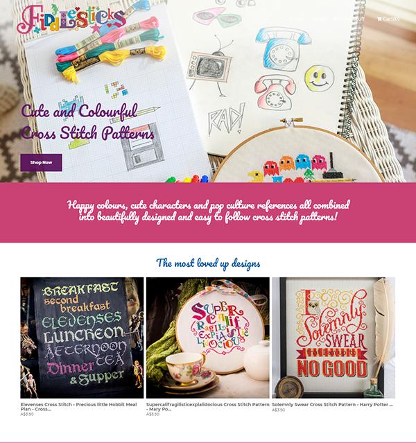 Ange Ireland Portfolio Website Examples