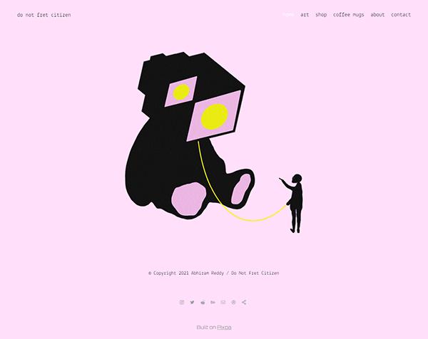 Abhiram Reddy Portfolio Website Examples