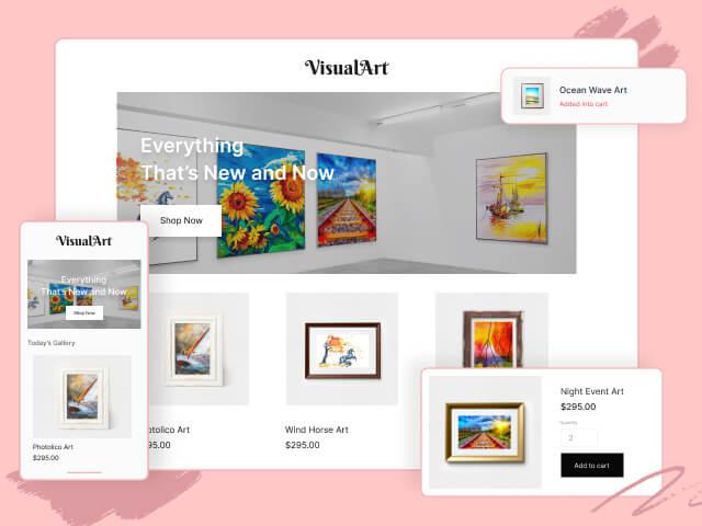 Create your unique online store