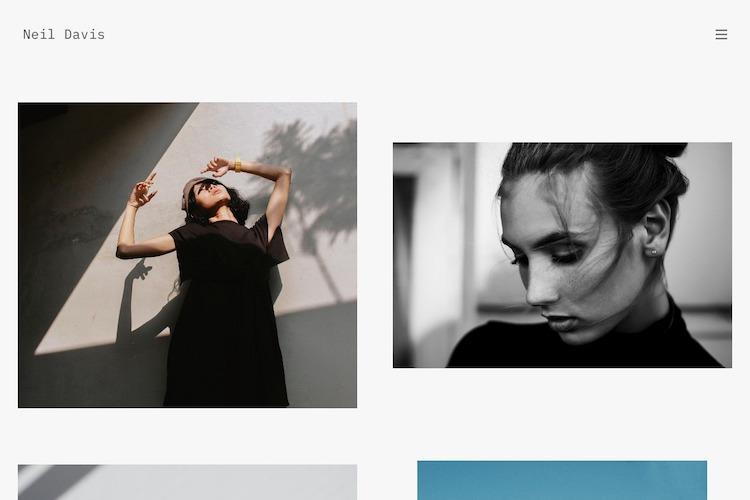 Align - Pixpa Portfolio Website Templates